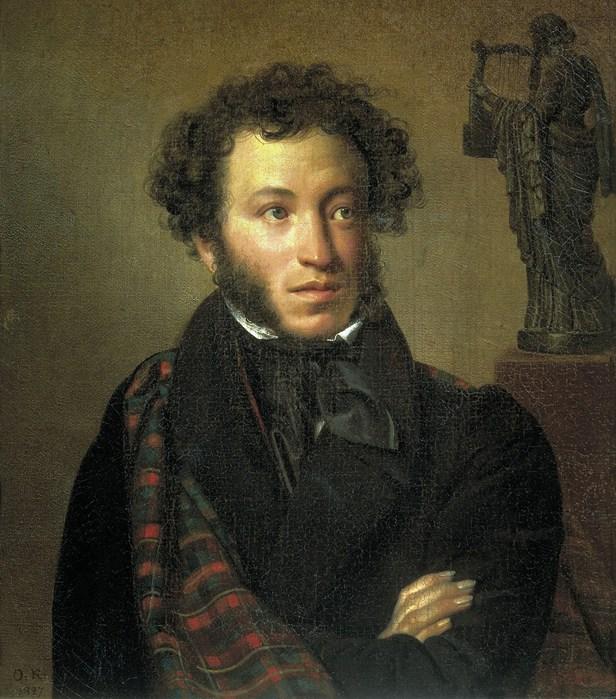 Портрет маленького пушкина