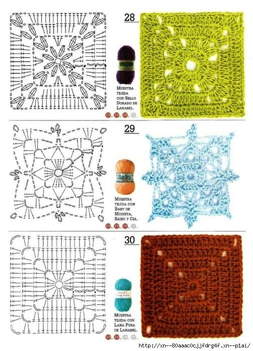 方形单元花及图解 - 岁月流逝的日志
