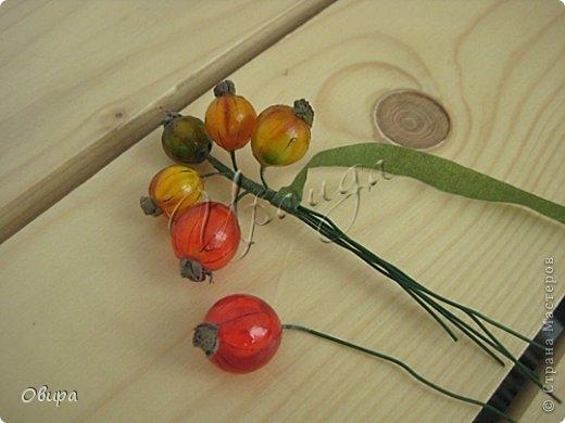 Красная смородина из ювелирной эпоксидной смолы (46) (520x390, 93Kb)