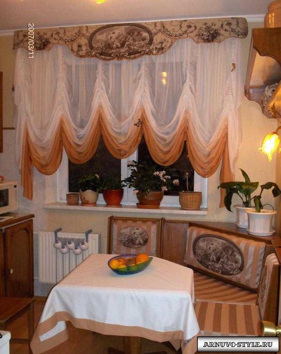 Шторы на кухню фото брянск