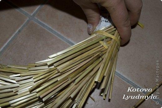 Как сделать стильный венок из соломы для украшения интерьера. Мастер-класс (28) (520x347, 105Kb)