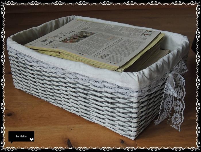 Плетение из газет. Стильные работы от Makin (34) (700x531, 307Kb)