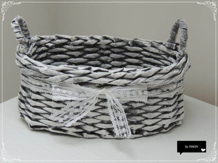 Плетение из газет. Стильные работы от Makin (56) (700x525, 228Kb)