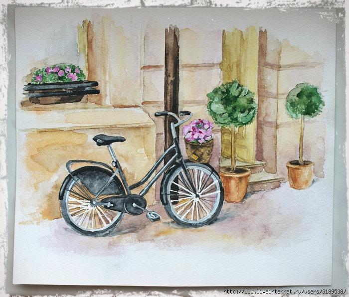 Рисунок в прованс