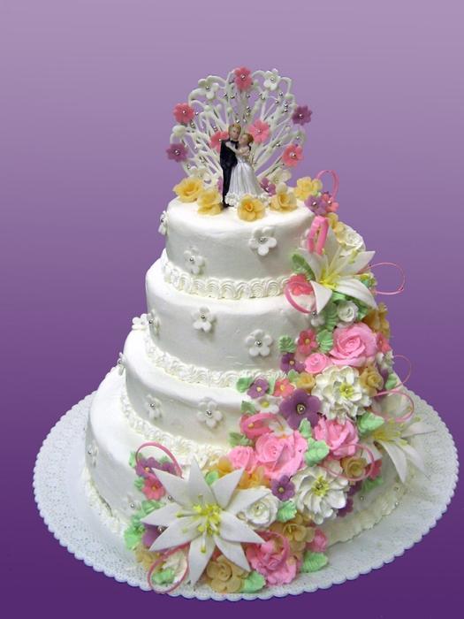 Свадебные торты 9
