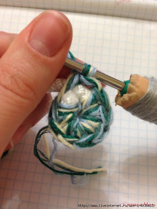 """钩针教程:"""" 绳子+毛线(纱线)=...... """" - maomao - 我随心动"""