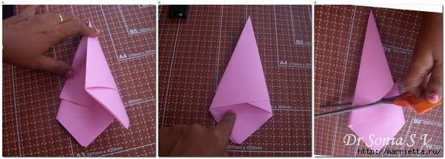 Цветы из бумаги для оформления торжества. Мастер-класс (12) (640x230, 122Kb)