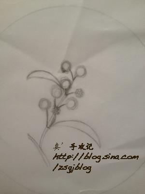 Фото мастер-класс по вышивке веточки мимозы (13) (300x400, 81Kb)