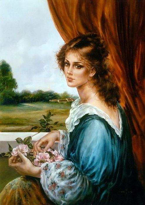красивые портреты девушек:
