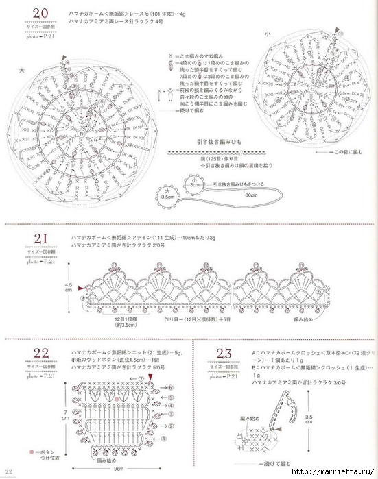 Сумки из пластиковых пакетов и украшения для сумок крючком (23) (551x700, 224Kb)