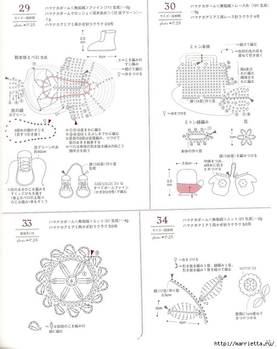 Сумки из пластиковых пакетов и украшения для сумок крючком (28) (556x700, 208Kb)