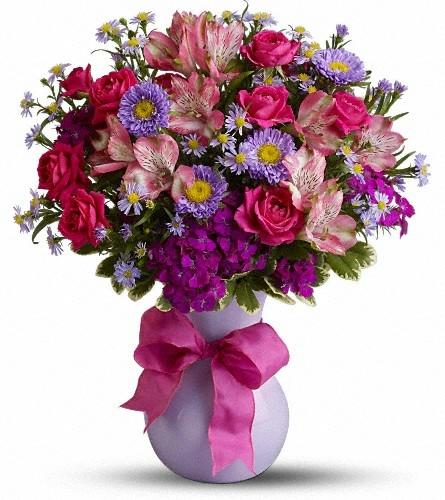 Букеты цветов для женщины