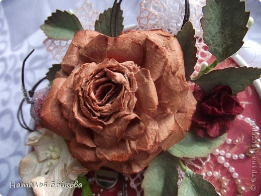 Винтажная роза из бумаги. Мастер-класс (7) (520x390, 128Kb)