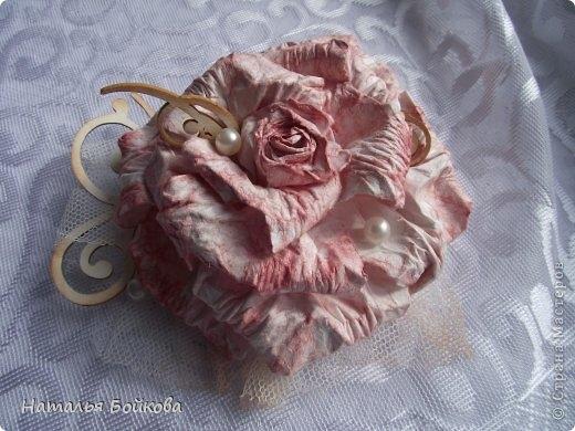 Винтажная роза из бумаги. Мастер-класс (24) (520x390, 133Kb)