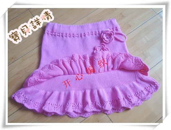 Вязанные юбки для девочек своими руками