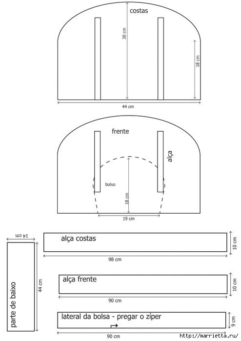Сумочка в технике пэчворк СУМКА ДЛЯ МАМЫ. Мастер-класс (2) (494x700, 66Kb)