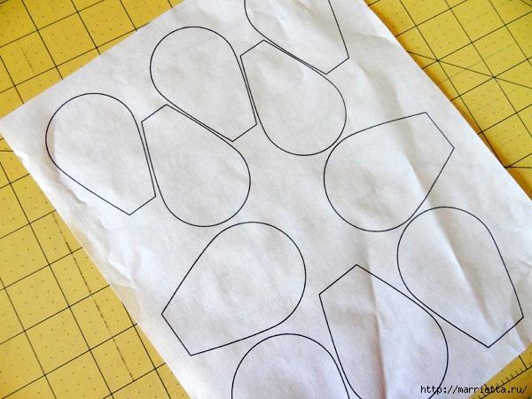 Hermosas almohadas con flores hechas de fieltro.  Ideas y master class (13) (600x450, 206Kb)