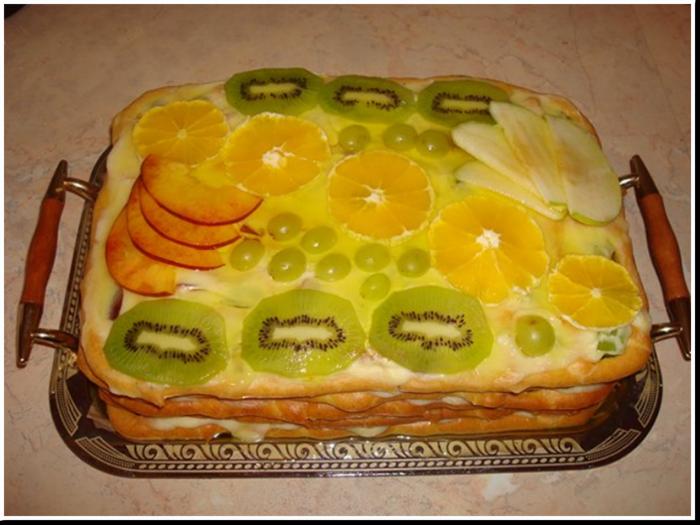 Торт тропиканка с заварным тестом пошаговый рецепт с фото