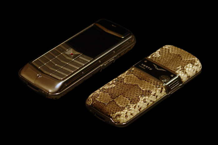 MJ Vertu Limited Edition Constellation Exclusive Leather - Python Skin, White Gold, Ruby Joystick (700x466, 24Kb)