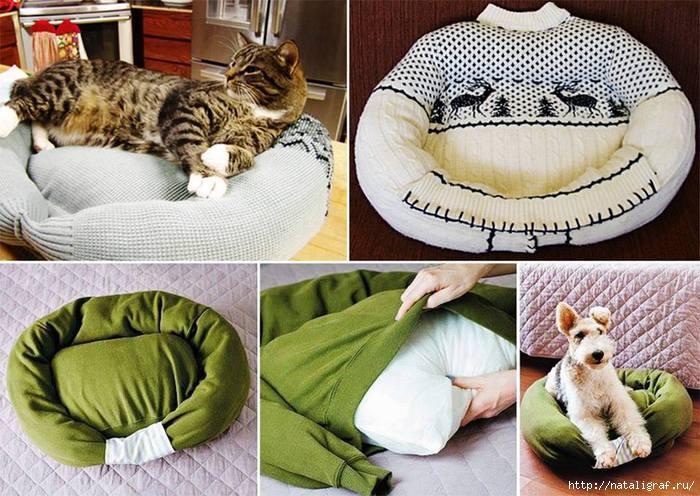 Лежаки для собак сделать своими руками