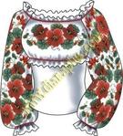 Вышивка украинского костюма богата и разнообразна.  Ею украшали женские и мужские рубахи, верхнюю одежду...