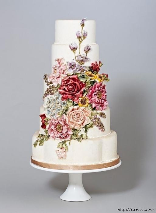 El más hermoso pastel de bodas (4) (513x700, 164Kb)