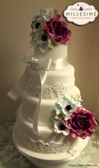 El más hermoso pastel de bodas (6) (413x700, 156Kb)