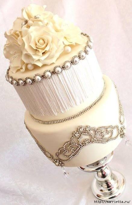 El más hermoso pastel de bodas (12) (438x680, 134Kb)