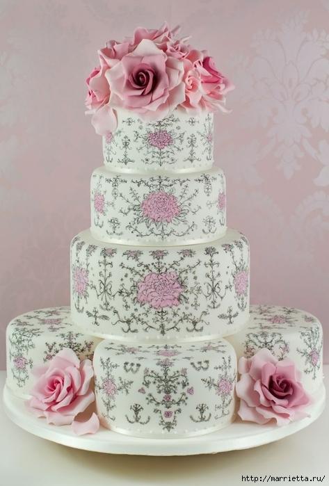 El más hermoso pastel de bodas (14) (473x700, 219Kb)