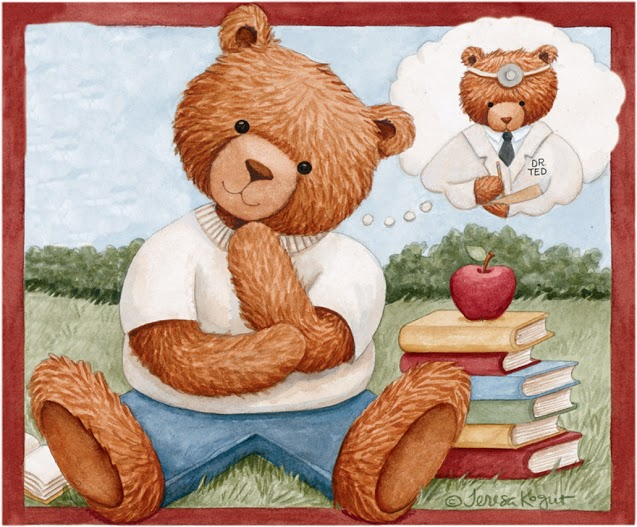 Thinking Bear (637x527, 347Kb)