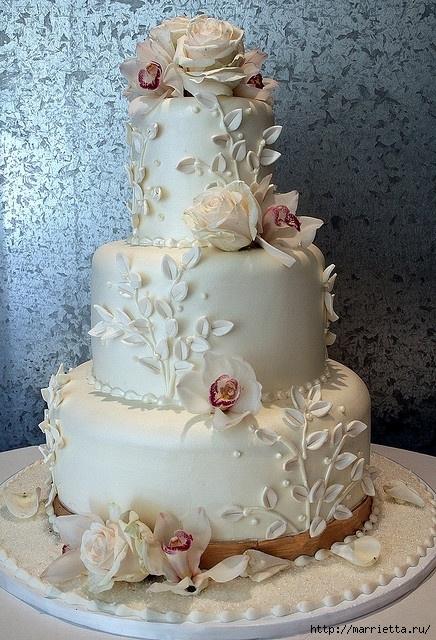 El más hermoso pastel de bodas (23) (436x640, 269Kb)