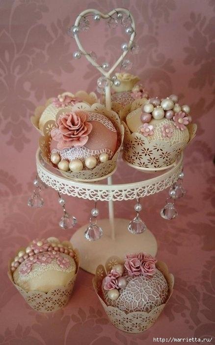 El más hermoso pastel de bodas (25) (438x700, 151Kb)