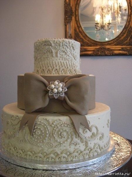El más hermoso pastel de bodas (36) (450x600, 135Kb)