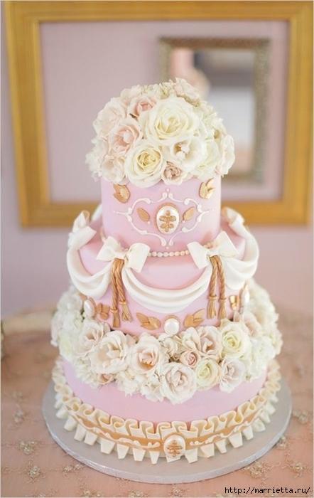 El más hermoso pastel de bodas (38) (442x700, 188Kb)