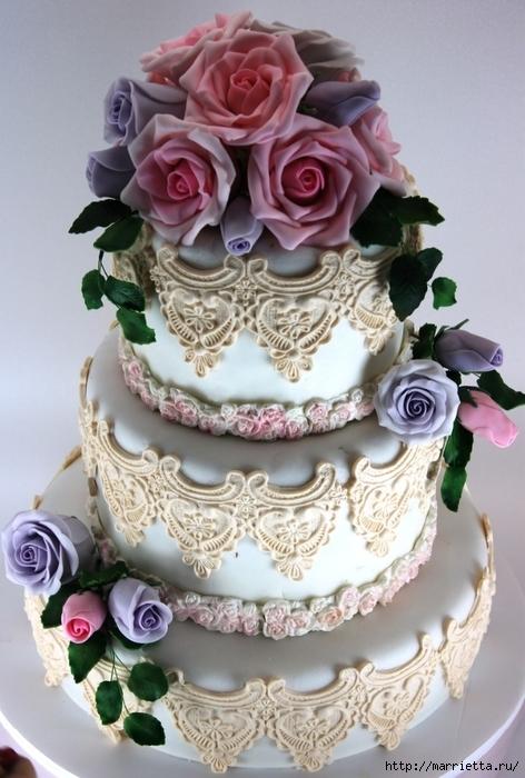 El más hermoso pastel de bodas (43) (472x700, 255Kb)