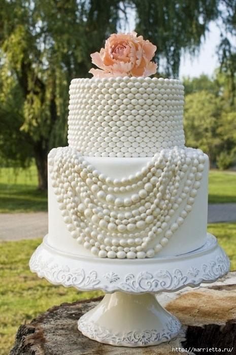 El más hermoso pastel de bodas (48) (465x700, 253Kb)