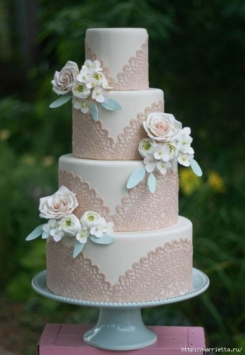 El más hermoso pastel de bodas (54) (483x700, 206Kb)