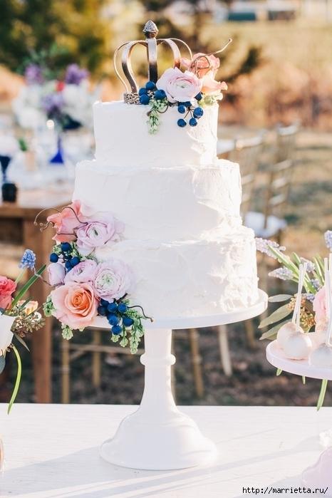 El más hermoso pastel de bodas (72) (466x700, 221Kb)