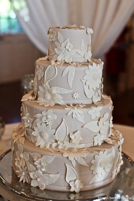 El más hermoso pastel de bodas (74) (466x700, 221Kb)