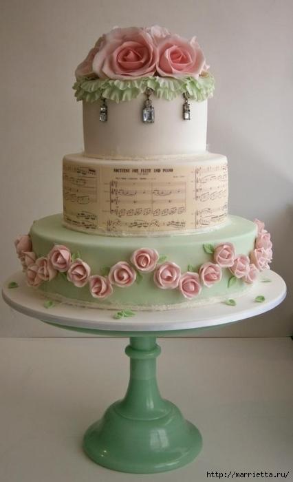 Самый красивый свадебный торт (76) (426x700, 145Kb)
