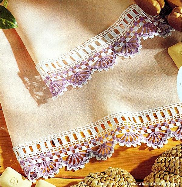 Схемы кружев для вязания