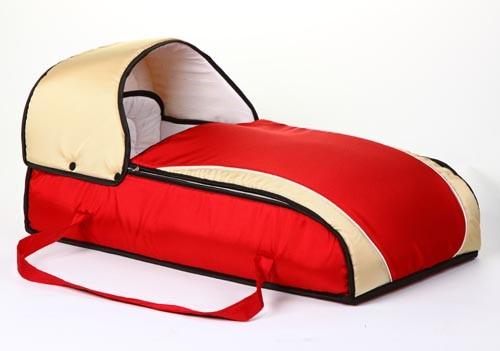 Люлька-переноска для ребенка СЛАРО (красный+бежевый) (500x351, 25Kb)