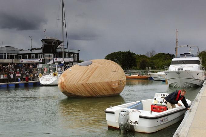 деревянный дом-лодка Exbury (680x453, 238Kb)