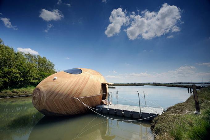 деревянный дом-лодка Exbury 7 (680x453, 240Kb)