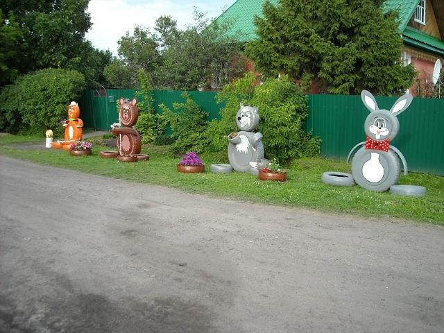 Скульптуры своими руками в детском саду