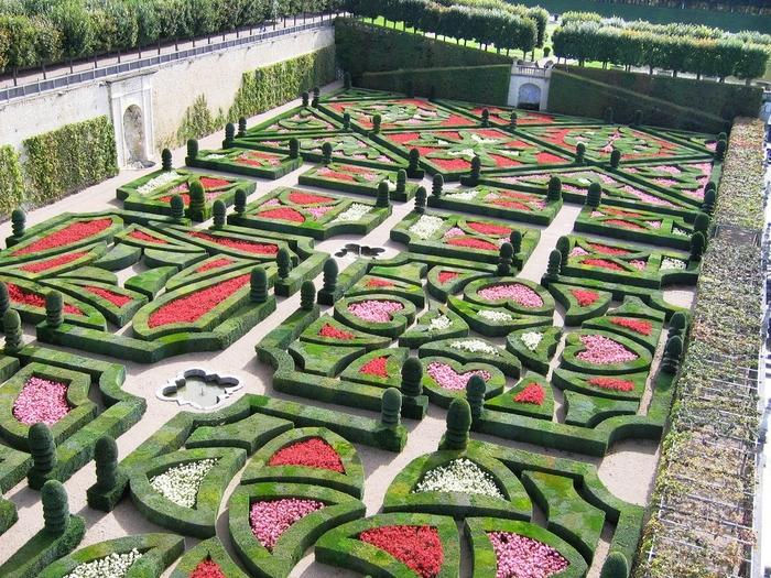 Сады замка Вилландри 8 (700x525, 401Kb)