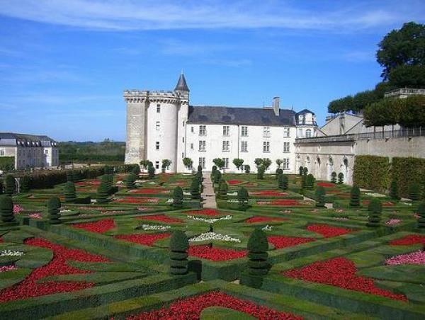 Сады замка Вилландри 10 (600x452, 173Kb)