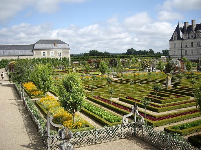 Сады замка Вилландри 12 (694x520, 334Kb)
