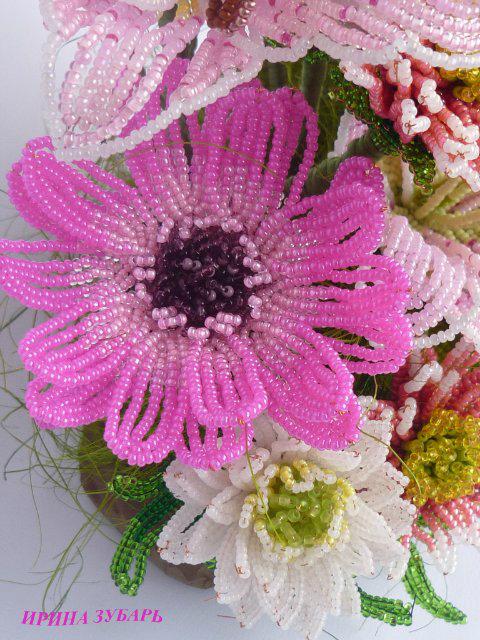 Цветы из бисера. getImage.