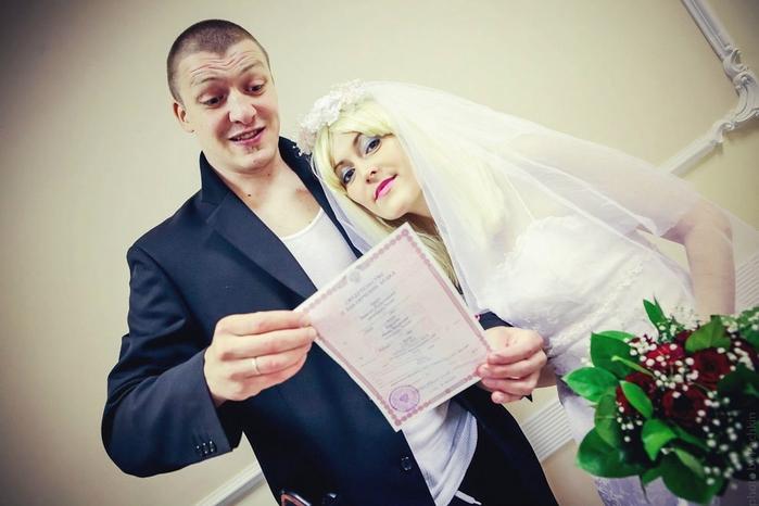 смешная свадьба фото 5 (700x466, 187Kb)